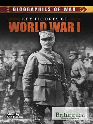 cover image of Key Figures of World War I