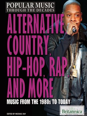 cover image of Alternative, Country, Hip-Hop, Rap, and More