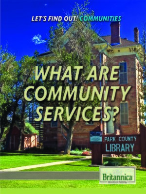 cover image of What Are Community Services?
