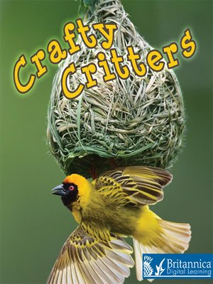 cover image of Crafty Critters