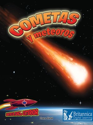 cover image of Cometas y meteoros