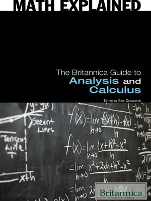 cover image of The Britannica Guide to Analysis and Calculus