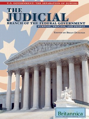 cover image of The Judicial Branch of the Federal Government