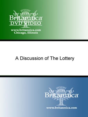 cover image of A Discussion of The Lottery