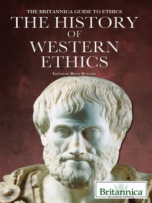 cover image of The History of Western Ethics