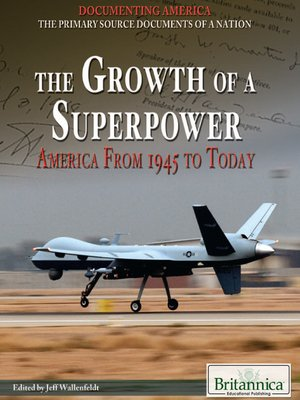 cover image of The Growth of a Superpower