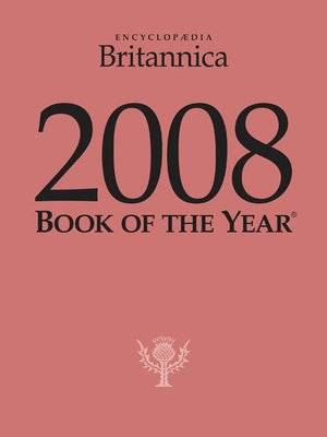 cover image of 2008 Britannica Book of the Year