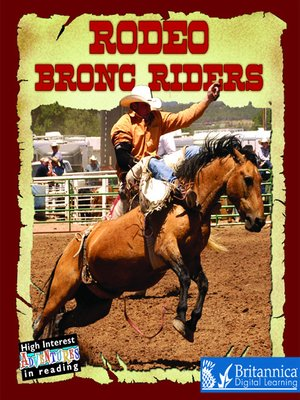 cover image of Rodeo Bronc Riders