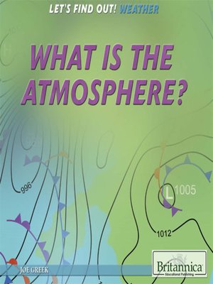cover image of What Is the Atmosphere and How Does It Circulate?