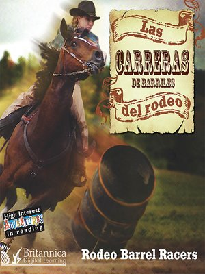 cover image of Las carreras del rodeo (Rodeo Barrel Racers)