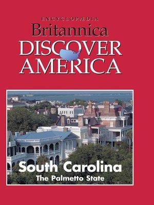 cover image of South Carolina: The Palmetto State