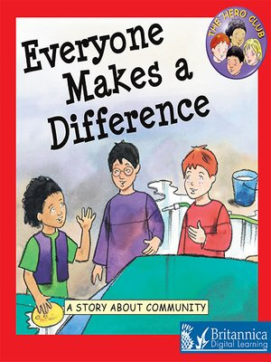 cover image of Everyone Makes a Difference