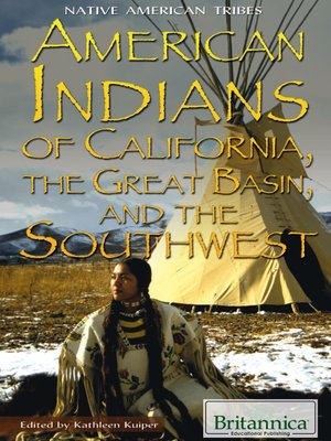 cover image of American Indians of California, the Great Basin, and the Southwest