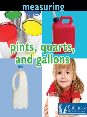 cover image of Measuring: Pints, Quarts, and Gallons