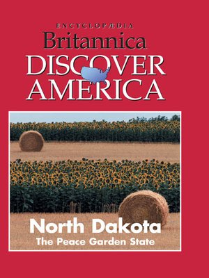 cover image of North Dakota: The Peace Garden State