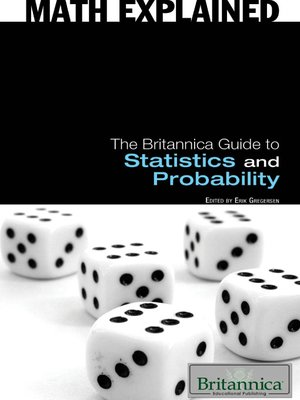 cover image of The Britannica Guide to Statistics and Probability