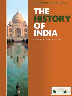 cover image of The History of India
