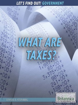 cover image of What Are Taxes?