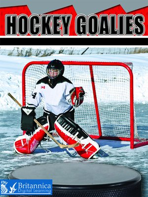 cover image of Hockey Goalies