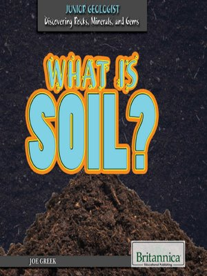 cover image of What Is Soil?