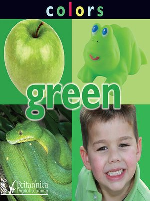 cover image of Colors: Green