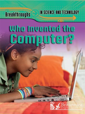 cover image of Who Invented the Computer?