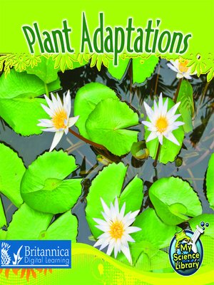 cover image of Plant Adaptations