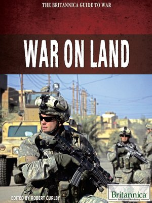 cover image of War on Land