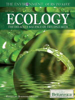 cover image of Ecology