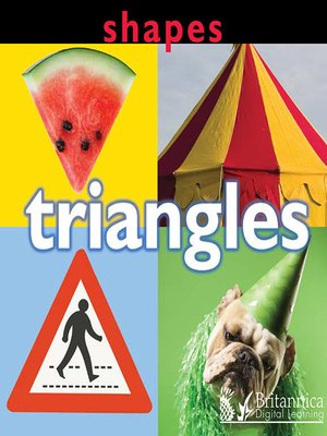 cover image of Shapes: Triangles