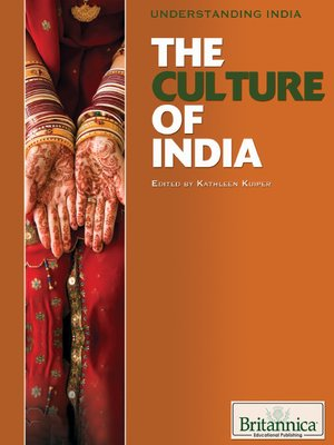 cover image of The Culture of India