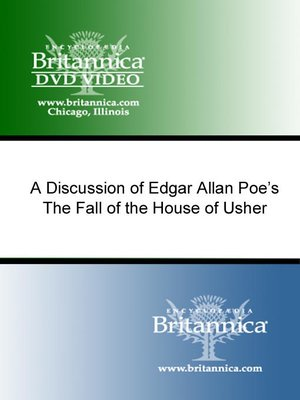 cover image of A Discussion of Edgar Allan Poe's The Fall of The House of Usher