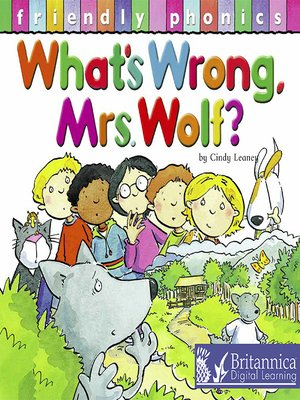 cover image of What's Wrong Mrs. Wolf?