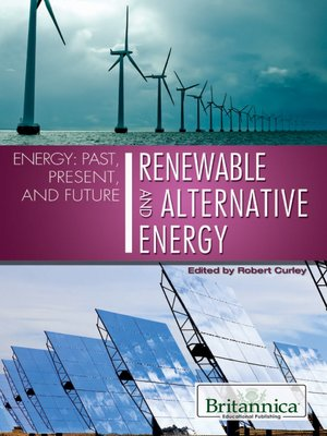 cover image of Renewable and Alternative Energy