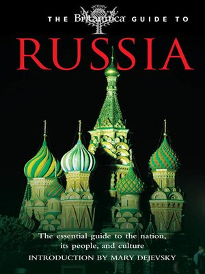 cover image of The Britannica Guide to Russia