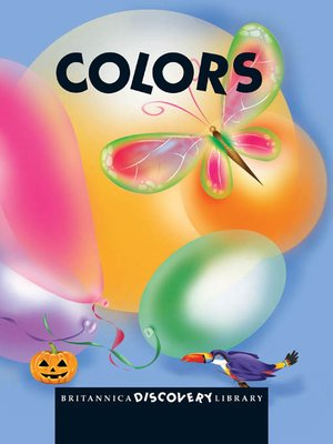 cover image of Britannica Discovery Library: Colors