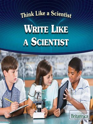 cover image of Write Like a Scientist