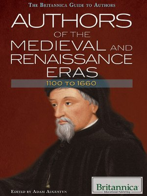 cover image of Authors of the Medieval and Renaissance Eras