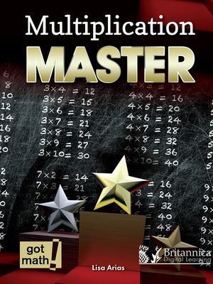 cover image of Multiplication Master