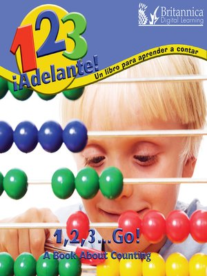 cover image of 1, 2, 3, ¡Adelante! Un libro para aprendar a contar