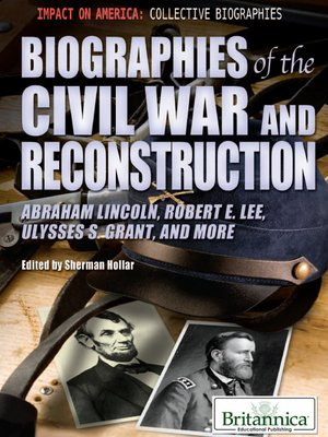 cover image of Biographies of the Civil War and Reconstruction