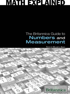 cover image of The Britannica Guide to Numbers and Measurement