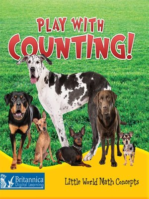 cover image of Play with Counting!