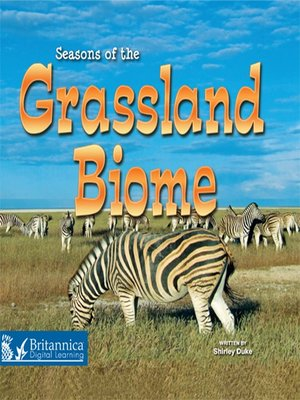 cover image of Seasons of the Grassland Biome