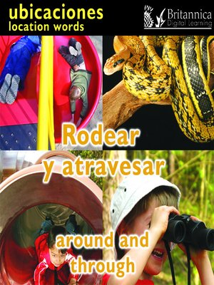 cover image of Rodear y atravesar (Around and Through: Location Words)