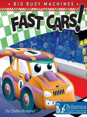 cover image of Fast Cars!