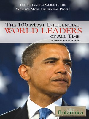 cover image of The 100 Most Influential World Leaders of All Time