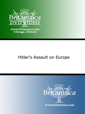 cover image of Hitler's Assault on Europe