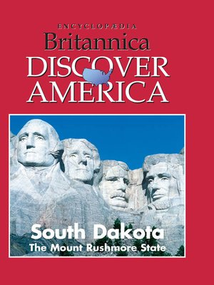 cover image of South Dakota: The Mount Rushmore State