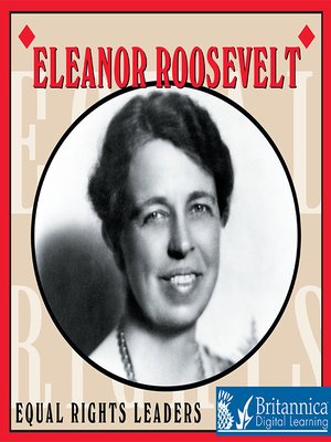 cover image of Eleanor Roosevelt